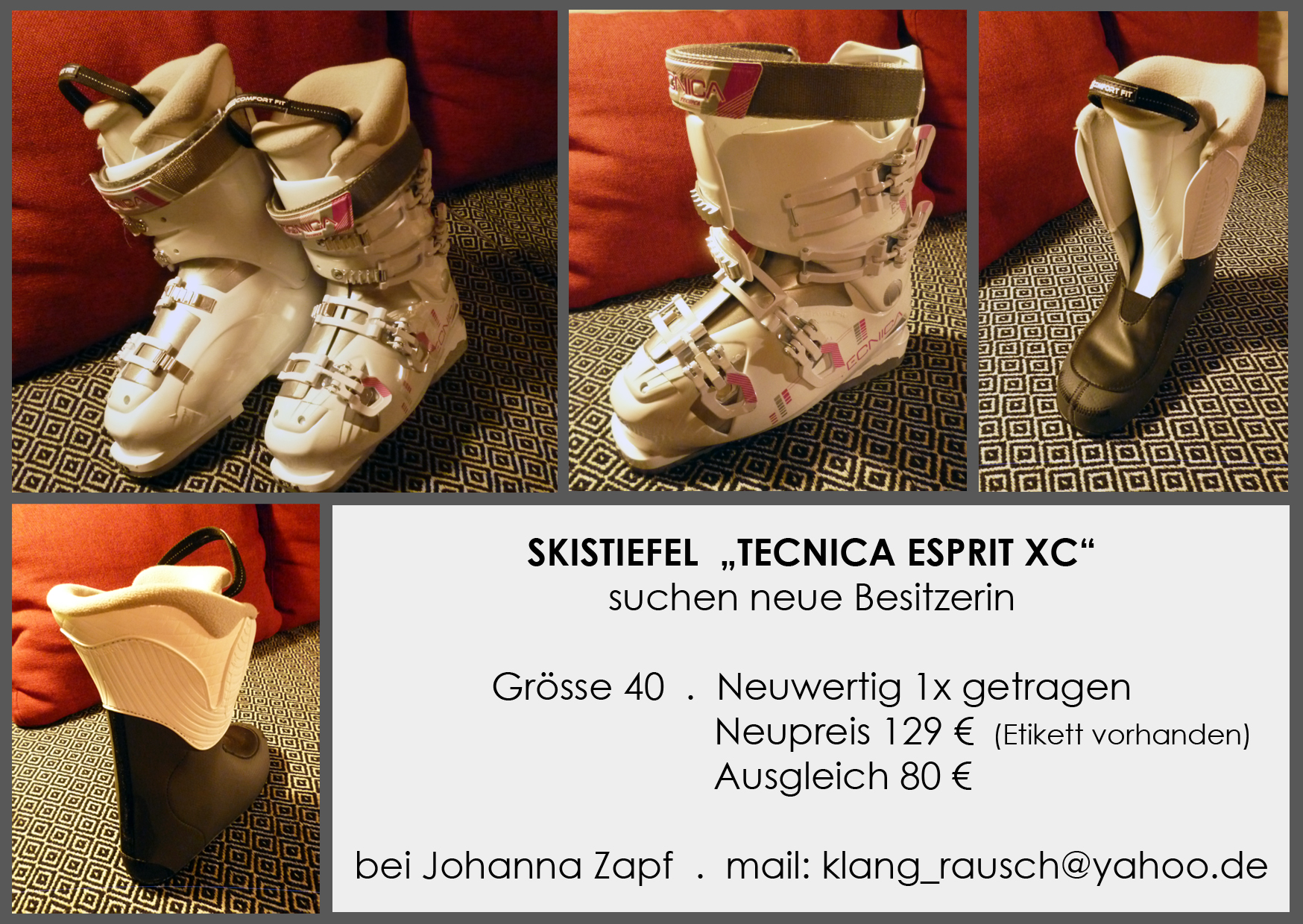 Skistiefel